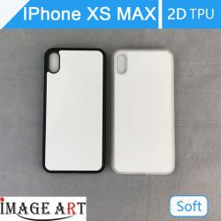 IPhone Xs Max Сублимация пустой пластиковый 2D TPU Телефон/крышка для передачи тепла печать