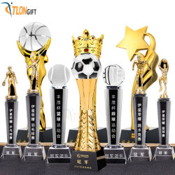 De Gouden Trofee van uitstekende kwaliteit van de Sporten van de Wereld van de Douane van het Metaal