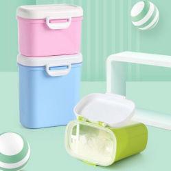 Mini portátil de fruta merienda Caja de almacenamiento de leche en polvo para bebés
