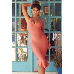 セクシーな包帯の服の社交界の名士のイブニング・ドレスおよびFishtail服