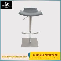 Hot Sale Home Furniture Swivel Rvs Pu Bar Stool Met Gasveer