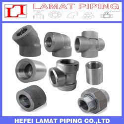 La norma ASTM A105/ASTM A182 de la toma de acero forjado de montaje del tubo roscado soldadura