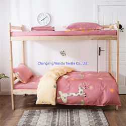 Gedruckter Bedsheet, Changxing Wandu Gewebe, eine Vielzahl der Muster sind, kann angepasst werden, Polyester-Faser-Gewebe 100% erhältlich