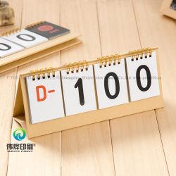 Creative Paper Printing Desk Kalender / Werbegeschenk