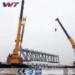 Montage-Stahlkonstruktion-Brücke mit starkem Metallrahmen-Fertighaus-Aufbau