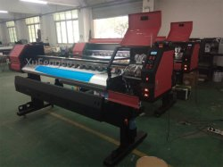 1900m de la impresora solvente ecológica de gran formato con 2pcs dx5 el cabezal de impresión