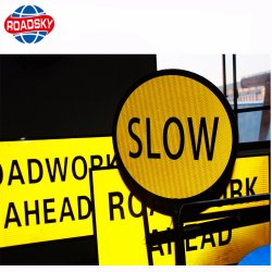 Reflective Speed Limit Traffic Safety Road Sign