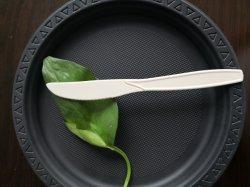 """La vaisselle biodégradable vaisselle jetable coutellerie amidon couteau 7"""""""