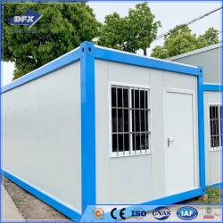 Het prefab Draagbare Huis van de Container van het Sta-caravan Houten Modulaire Verschepende Huizen Geprefabriceerde voor Verkoop