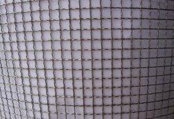 Maglia metallica crimpata zincata a foro quadrato in fabbrica di ancoraggio.