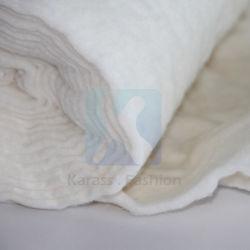 Proceso de perforado de la aguja de China de bateo de fibra de poliéster 100% Rollo para cama