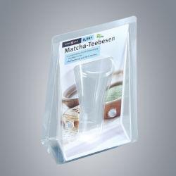 슈퍼마켓 소매 제품을 위한 맞춤형 플라스틱 3단 접이식 클램셸 패키징.