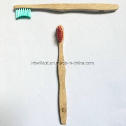100% biodegradierbare Zahnbürste hergestellt von kürzlich geerntetem Bambus