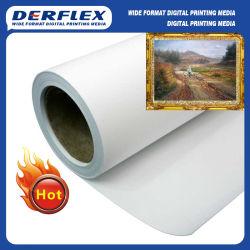 Photo Frame lienzo lienzo poliéster 100% tejido de la impresión de inyección de tinta