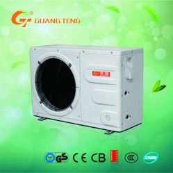 Source d'air de l'air chauffe-eau à l'eau de la pompe à chaleur avec l'enveloppe extérieure en plastique