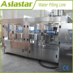 3 Totalmente Automática em 1 Bebidas Carbonatadas da linha de produção de Processamento de enchimento / escala pequena garrafa de sumo de água da máquina de engarrafamento de bebidas carbonatadas