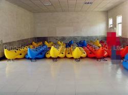 스포츠 게임 장난감 도매가를 위한 뜨 대양 모험 고품질 싸게 Towable 팽창식 바나나 보트