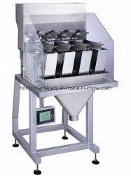 500-5000semi-auto g de noix de pin Flling de pesage à fonctionnement machine de conditionnement d'emballage d'ensachage