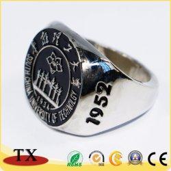 Anello di barretta personalizzato di vendita caldo del metallo del ricordo per il regalo di promozione