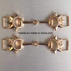 Hebilla de la cadena brillante de zinc aleación&Hebilla para accesorios de prendas de vestir
