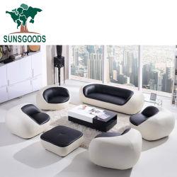 Natuurlijk en Comfortable 7seater Leather Sofa Set voor Sale