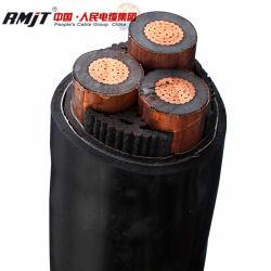 Haute tension des câbles sous-marin d'isolation en polyéthylène réticulé submersible basse tension du fil électrique en aluminium Ruban d'acier sur le fil blindé de câble d'alimentation en cuivre