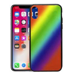 بالنسبة إلى علبة Apple iPhone X ذات لون ملون من زجاج البولي يورثان المتلدن بالحرارة (TPU) غلاف غلاف غلاف غلاف غلاف غلاف غلاف غلاف غلاف غلاف غلاف غلاف غلاف 8 8بالإضافة إلى غطاء حقائب الهاتف المحمول