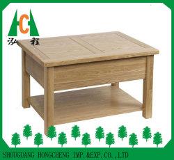 서랍을%s 가진 최신 단단한 오크 겹켜 나무로 되는 커피용 탁자