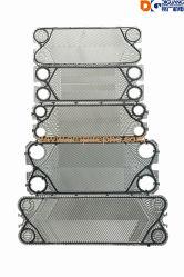 Rimontaggio Gea Apv Sondex Tranter Thermowave, pezzi di ricambio dello scambiatore di calore, piatto dello scambiatore di calore