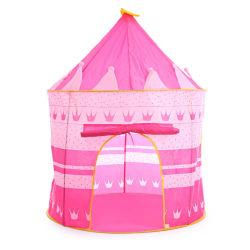 Jeu d'enfants de la Chambre tente de plage Princess Palace Château d'enfants jouant à l'intérieur Rose tente de jouets pour les filles