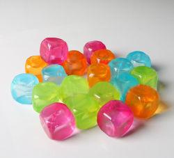 Sin BPA colorido modelo de Plástico Reutilizables Mayorista de cubitos de hielo