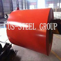 China-Fabrik strich Galvalume StahlPlastikfilm PPGL Belüftung-ring/Ral9003 vor
