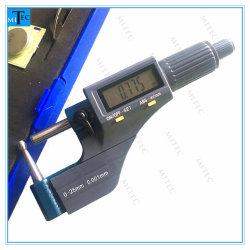 Tubo digital de medição de espessura micrómetro Ferramenta de Medição