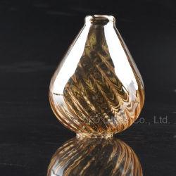 Amber abat-jour en verre soufflé bouche J053