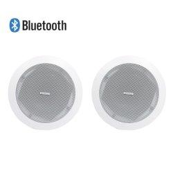 315106 Accueil audio sans fil Bluetooth 2*15W Woofer Actif 5'' et 1'' avec la ligne de tweeter, haut-parleur de plafond coaxial