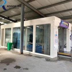 14 escovas Automatic Tunnel Car Wash Máquina / Lavador de carro de Alta Pressão Automática / Automatic Tunnel Aluguer de máquina de lavar as Correias Simples