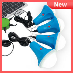 مصباح LED للطاقة الشمسية المحمول مصباح خيمة التخييم المحمول في الهواء الطلق
