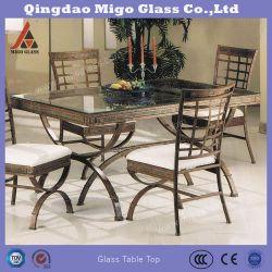 Закаленное обеденный стол верхней части стекла
