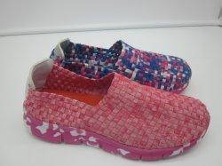 Hand - gemaakte Elastische Lichte Geweven Schoenen voor Vrouwen