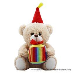 De Giften van de Doos van de Holding van de Teddybeer van de Zitting van Chirstmas voor Kinderen