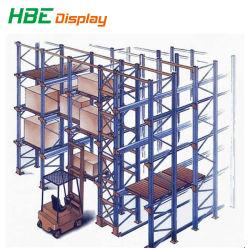 Scaffalatura per pallet in acciaio regolabile in profondità per impieghi pesanti