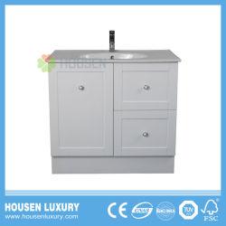 2018 핫 세일 프리스타딩 PVC 또는 MDF 재료 호주 스타일 하이 광택 페인트 욕실 캐비닛 Av116