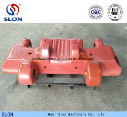Qualitäts-Mangan-Stahl-Fahrgestell zerteilt Exkavator-Planierraupen-Spur-Schuh