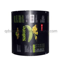 Custom пластиковый мешок для упаковки продуктов питания ламинированные рулон пленки на продажу