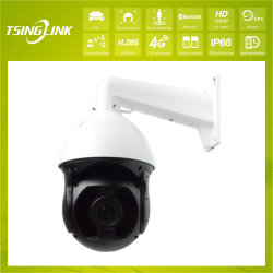 PTZ inteligente 4G de la transmisión inalámbrica de vídeo HD cámara CCTV IP