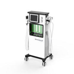 Microcurrent portátil de la máquina de aspiración vacío máquina Facial dermoabrasión hidro jet de oxígeno del agua