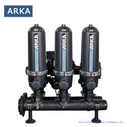 Filtro a rete in plastica tipo T 3 pollici, 3 unità, lavaggio di ritorno Sistema di filtrazione a disco automatico per filtrazione industriale