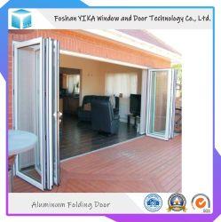 Jardim à prova de design da porta de vidro duplo porta dobrável de Alumínio Isolados