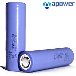 طاقة ليثيوم أيون عالية الجودة بقدرة 35A 40 طن بقدرة 18650/21700 مللي أمبير/ساعة قابلة لإعادة الشحن إمداد بطارية الليثيوم أيون/بطارية الليثيوم