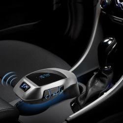 Alimentação de fábrica 2018 X5 Kit veicular Bluetooth mãos livres sem fios leitor MP3 adaptador de rádio transmissor FM